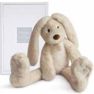 Doudou et Compagnie Fluffy - Lapin longues jambes écru