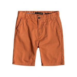 Quiksilver Everyday - Short Chino - Garçon Enfant 8-16 Ans - Orange