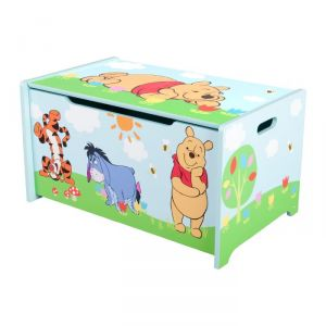 Delta Children Coffre à jouets en bois Winnie l'Ourson