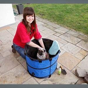 Karlie Doggie Shower - Baignoire pour chien (petit modèle)