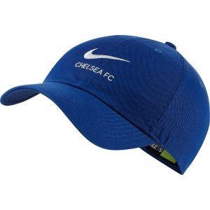 Nike Casquette réglable Chelsea FC Heritage86 - Bleu - Taille Einheitsgröße - Unisex