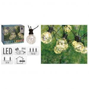 Progarden Ensemble d'éclairage à LED de fête de jardin 50 micro LED