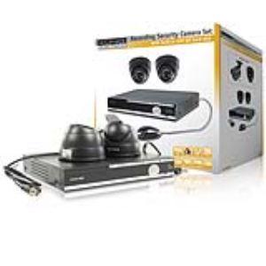 König SEC-SETDVR20 - Ensemble de sécurité avec DVR 500 Gb et 2 caméras dôme