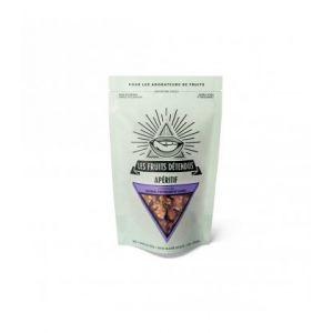 Les fruits Détendus Crackers raisin, pistache et carvi bio, cru & vegan