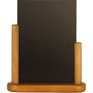 Securit Elégante ardoise de table finition teck 280 x 200mm
