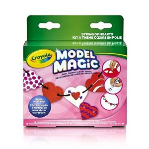 Crayola Model Magic Kit guirlande coeurs