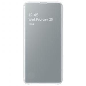 Samsung Etui S10E Clear View cover blanc