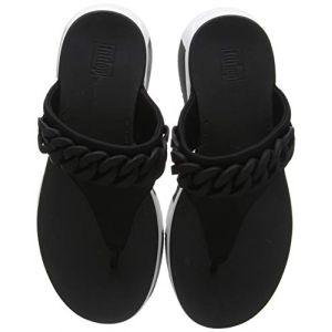 FitFlop Tongs Heda Chain Toe-thongs - Black - EU 36