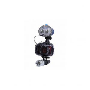 Nikon Coolpix S3300 + Pack Plongée (Caisson étanche, lampe et flash)