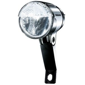 Trelock Bike-i Trio Phare LED 875/40 lux Feu de position Allumage automatique Noir/gris