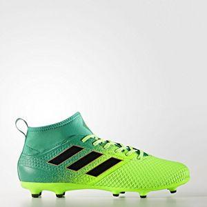 Adidas Ace 17.3 Primemesh FG, pour Les Chaussures de Formation de Football Homme, Vert (Versol/Negbas/Verbas), 46 EU