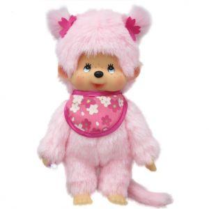 Bandai Peluche Monchhichi Pinky