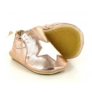 Easy Peasy Blublu etoile, Chaussures Premiers Pas bébé fille, Rose (432 Pink/Blanc), 18/19 EU