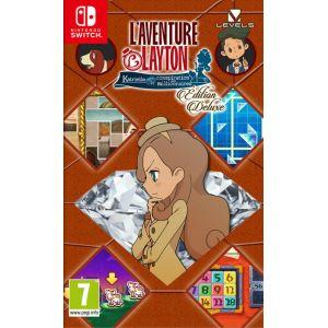 Jeu Switch L'Aventure Layton Katrielle Ed. Deluxe [Switch]