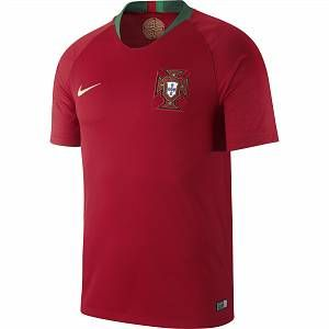 Nike Maillot de football 2018 Portugal Stadium Home pour Homme - Rouge - Taille XL - Homme
