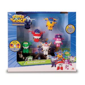 Auldey Coffret 6 figurines Super Wings