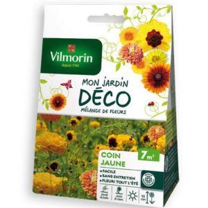 Vilmorin Mélange de fleurs Coin Jaune 7m2