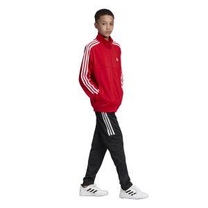 Adidas YB TS Tiro Survêtement Garçon, Scarlet Black/White, FR : S (Taille Fabricant : 7-8Y)