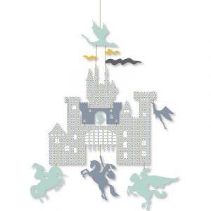 Djeco Mini mobile Château et dragons