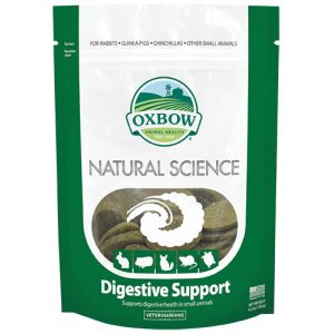 Oxbow Natural Science Small Animal Health Digestive Support Supplement 60ct Tabs