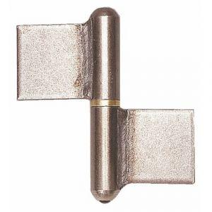 Faure Paumelle à souder - 140 mm - Noeud plat - Clemenson - Torbel industries