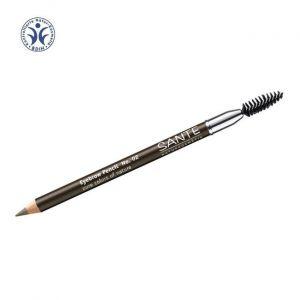Sante Naturkosmetik Crayon à sourcils N°2 Marron