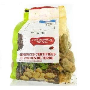Botanic Pommes de terre Amandine bio calibre 0001, 3 kg