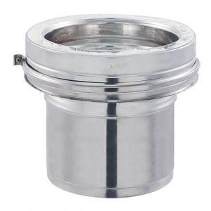 Isotip Joncoux Adaptateur Simple Paroi Lisse / Double Paroi INOX - 180 mm