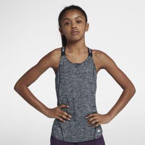 Nike Débardeur de training Dri-FIT pour Fille plus âgée - Noir - Taille S - Female