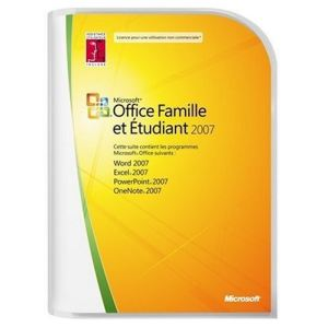 Office Famille et Etudiant 2007 [Windows]
