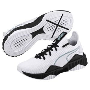 Puma Defy Wn's, Chaussures de Fitness Femme, Blanc White Black 03, 40.5 EU