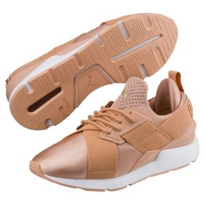 Puma Muse Satin Ep W chaussures rouge 39 EU
