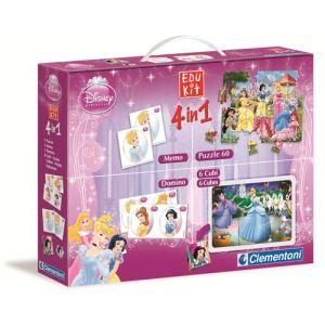 Clementoni Edukit 4 en 1 : Princesses Disney