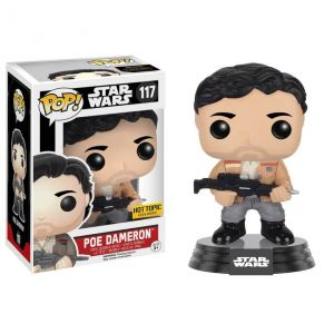 Funko Figurine Pop! Star Wars Episode 7 : Poe Dameron Resistance