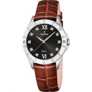 Festina F16929 - Montre pour femmes avec bracelet en cuir