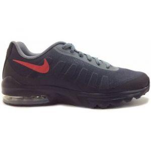 Nike Air Max Invigor Print, Sneakers Basses Homme, Multicolore (Gunsmoke/University Red/Black 001), 41 EU