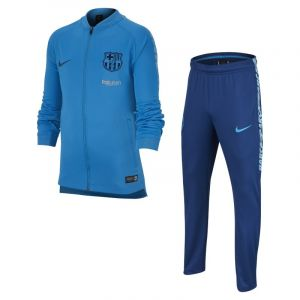 Nike Survêtement de football FC Barcelona Dri-FIT Squad pour Enfant plus âgé - Bleu - Couleur Bleu - Taille M