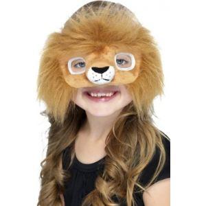 Masque peluche lion