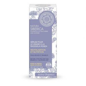 Natura Siberica Sérum pour le visage à la rhodiola rosea - Le tube de 30ml