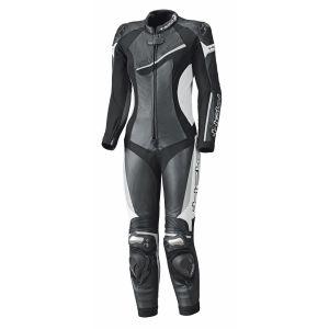 Held Combinaison cuir femme AYANA II noir/blanc - FR-40