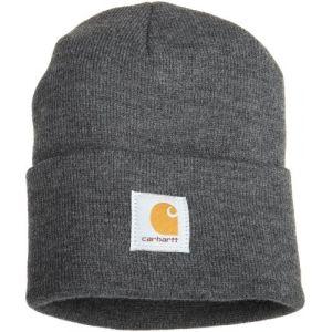 Carhartt Bonnet 100% acrylique gris anthracite - Watch