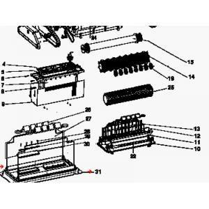 Procopi 1013531 - Porte filtre 1 sac de Patriote GP depuis 2001