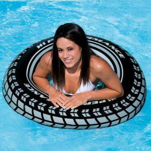 Intex Bouée gonflable pour adulte pneu 91 cm