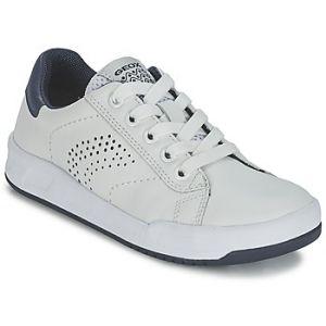 Geox ROLK Boy D, Sneakers Basses Garçon, Blanc (C0899), 26