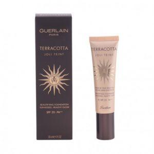 Guerlain Terracotta Joli Teint : Teint Moyen - Fond de teint belle peau bonne mine ensoleillée