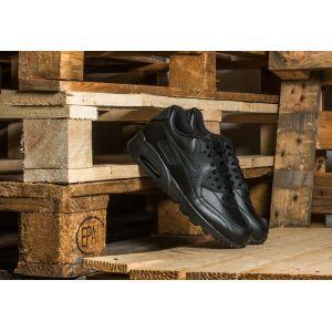 Nike Air Max 90 LTR (GS), Baskets Garçon, Multicolore (Black/Black 001), 39 EU