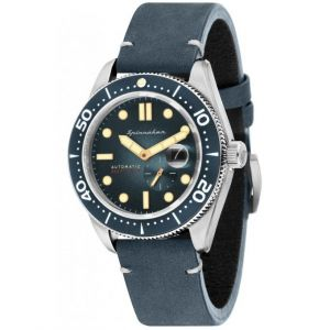 Spinnaker Montre Croft Automatique - Cadran Bleu - SP-5058-01