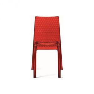 Hypnotic Delphes - Chaise design transparente