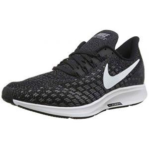 Nike Air Zoom Pegasus 35, Chaussures de Running Compétition Homme, Multicolore (Black/White/Gunsmoke/Oil Grey 001), 47 EU