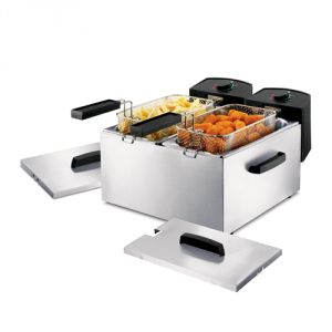 Princess 183123 - Friteuse électrique Double Fryer 2 x 3 L